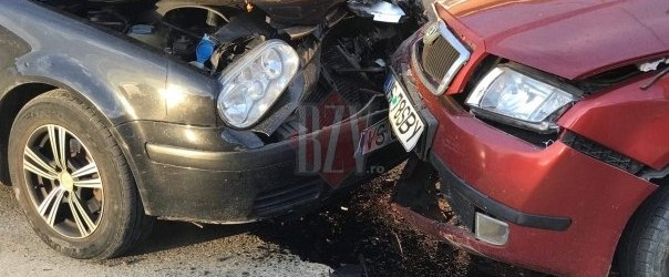 Accident rutier fara victime in intersectia strazilor Corni si Cotroceni!